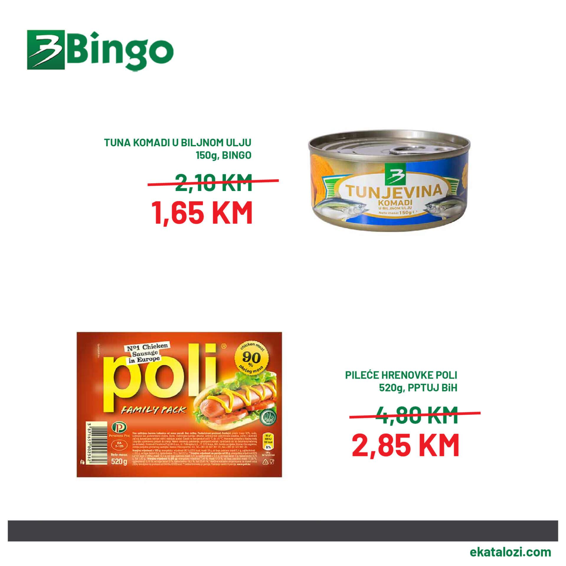 BINGO SUPER akcija SEPTEMBAR 2021 7.9.2021. 10.9 2