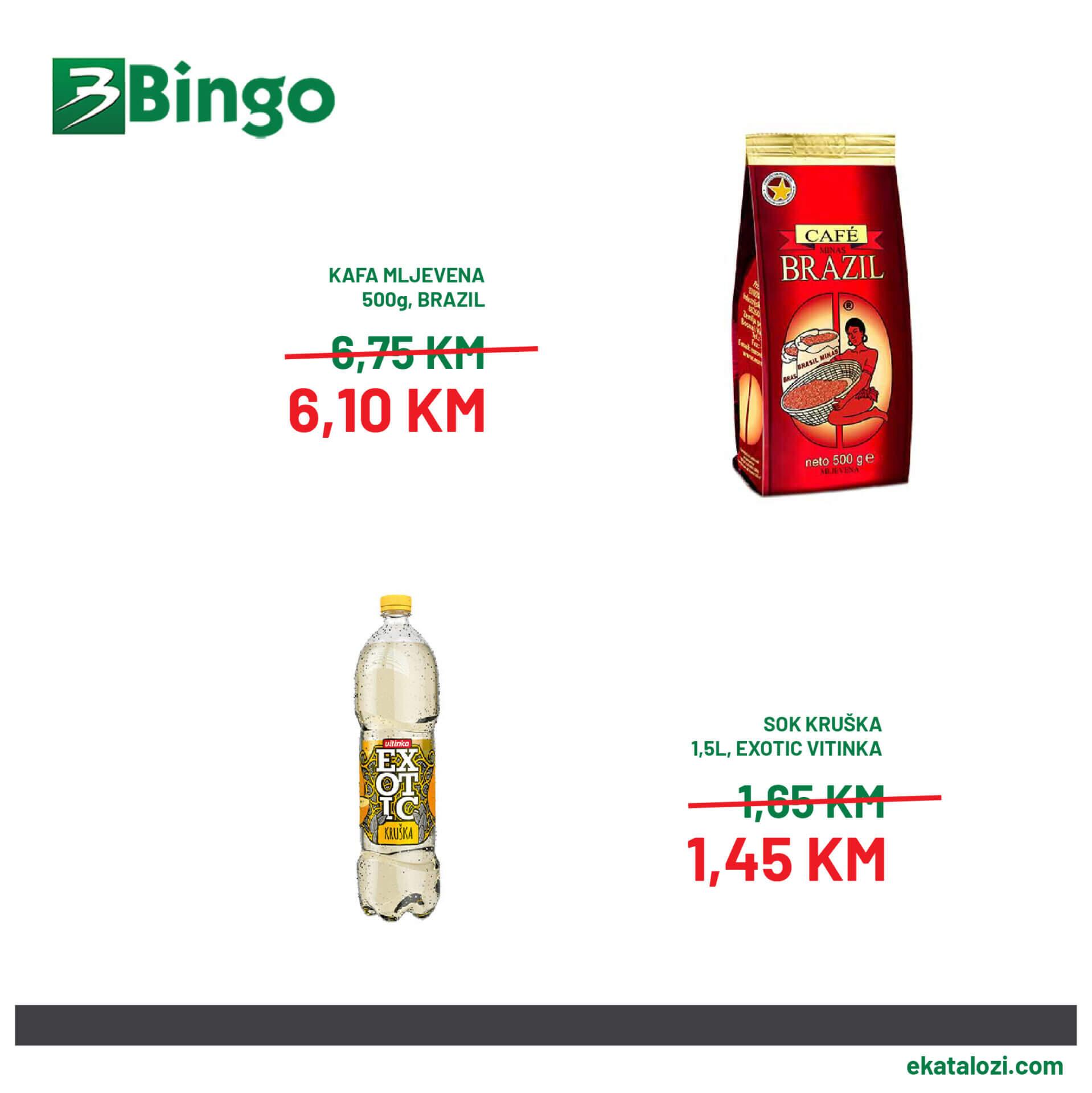 BINGO SUPER akcija SEPTEMBAR 2021 7.9.2021. 10.9 3 1
