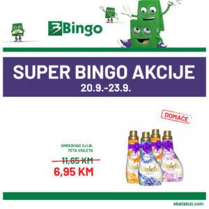 BINGO Super akcija SEPTEMBAR 2021 20.9.2021. 23.9.2021. ekatalozi 1