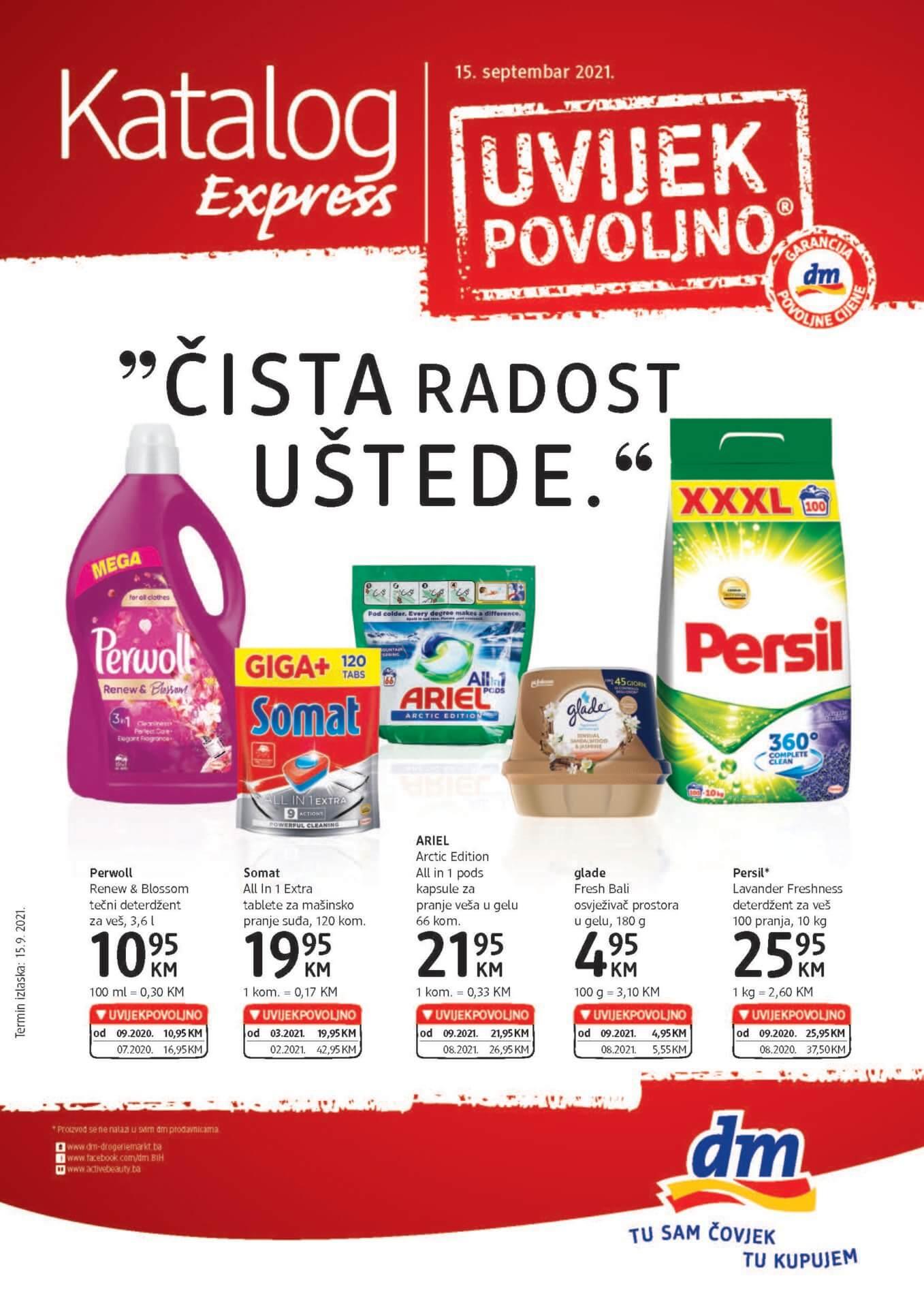 DM Express Katalog BiH SEPTEMBAR 2021 15.9.2021. 28.9.2021. Page 1 1