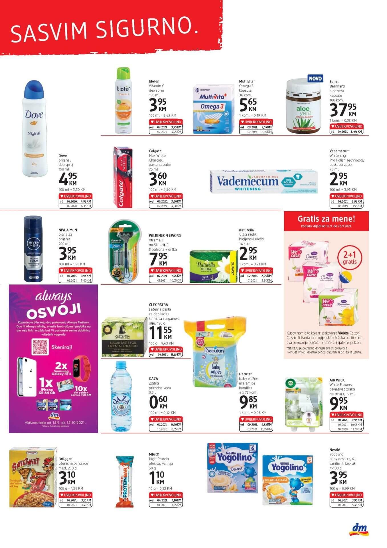 DM Express Katalog BiH SEPTEMBAR 2021 15.9.2021. 28.9.2021. Page 3