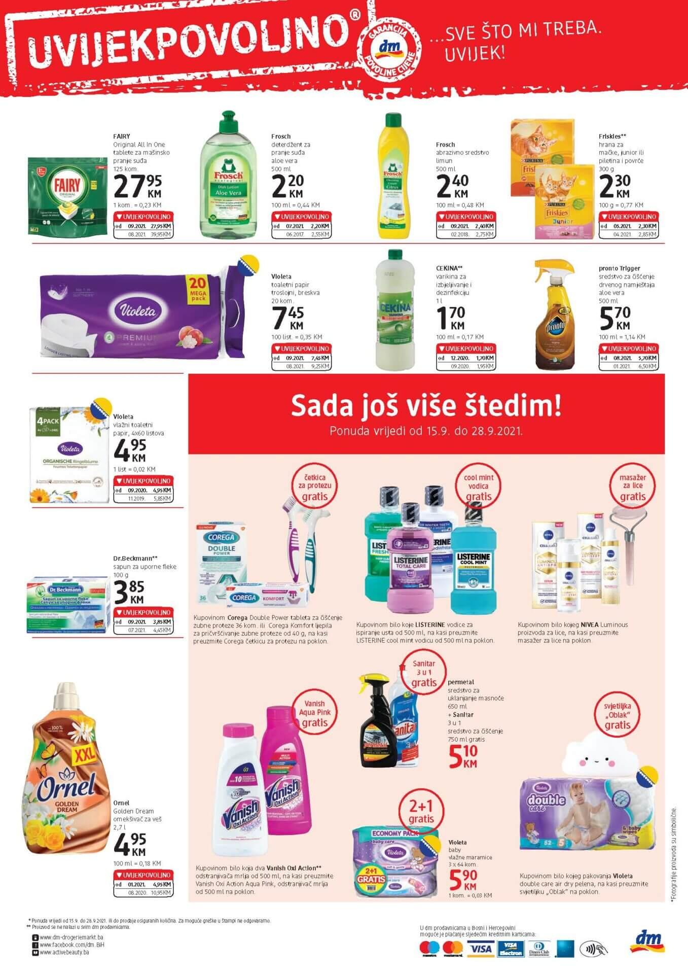 DM Express Katalog BiH SEPTEMBAR 2021 15.9.2021. 28.9.2021. Page 4