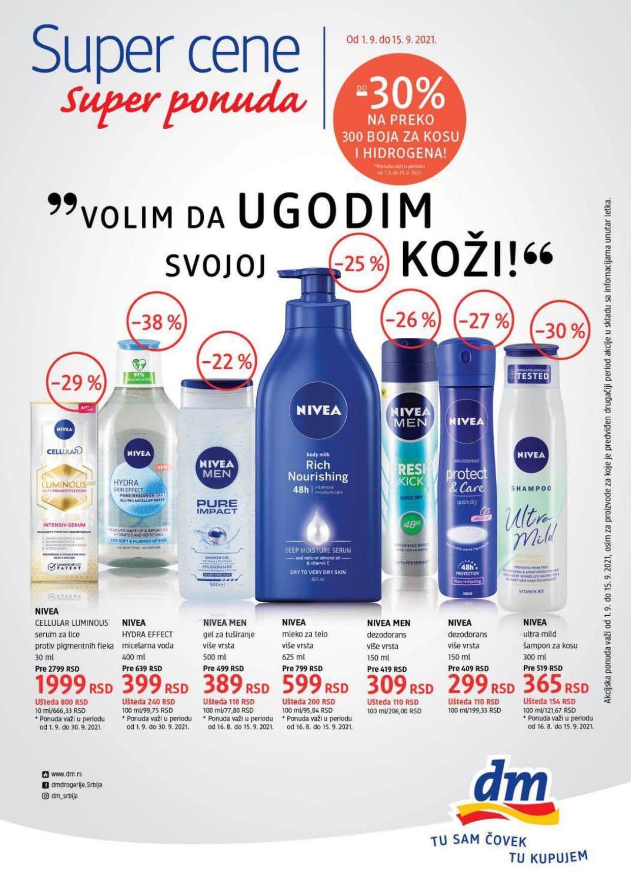 DM SUPER CENE Srbija Septembar 2021 1.9.2021. 15.9.2021. Page 1