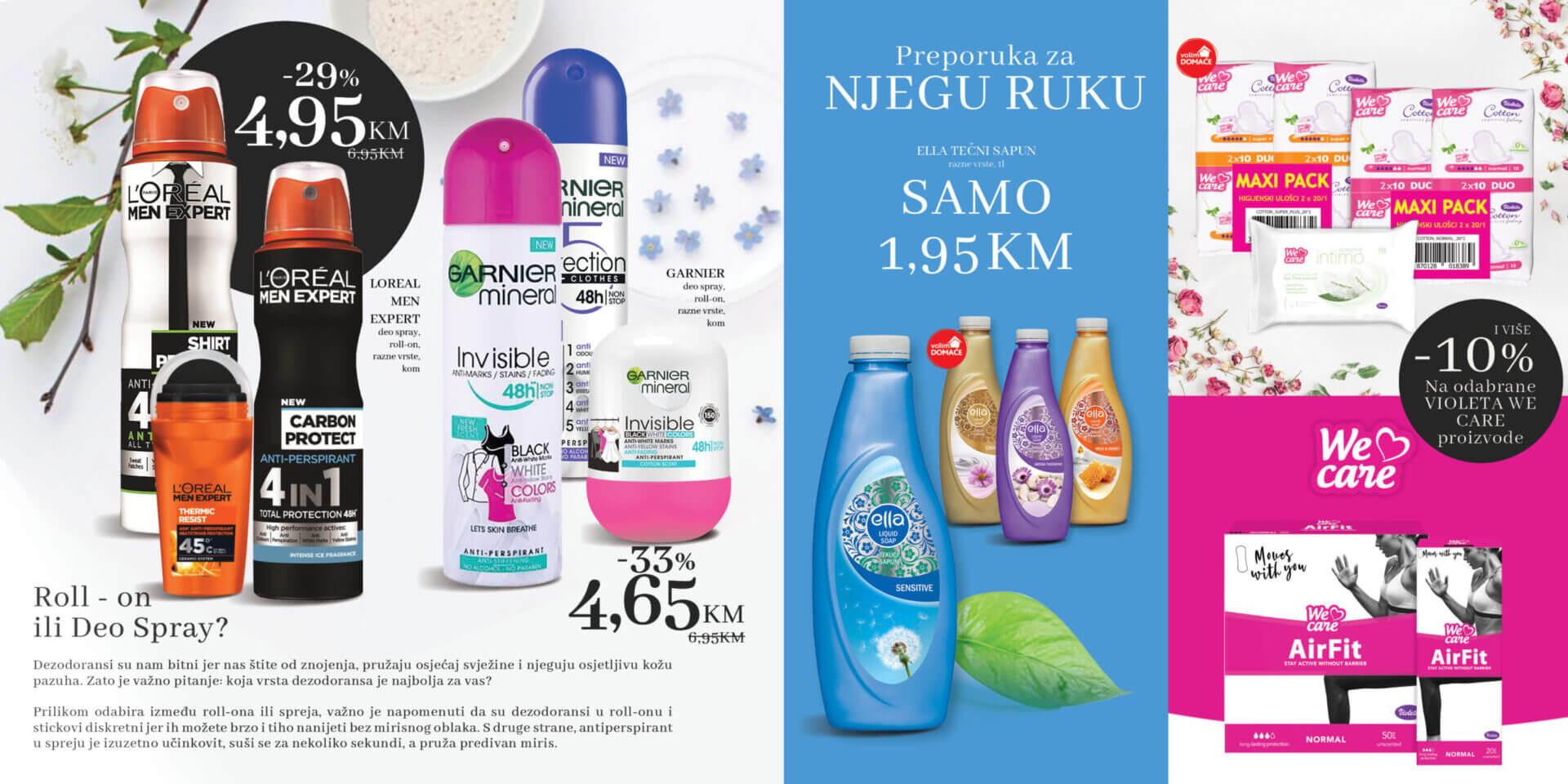 KONZUM Kozmetika Lijepi i njegovani svaki dan 6.9.2021. 30.9.2021. Page 06